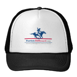 Support American Values With Patriotsbillboard.org Mesh Hat