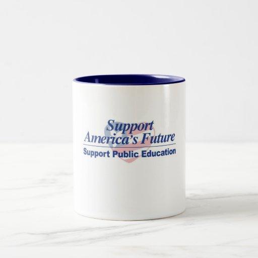 Support America's Future-Public Education Mug