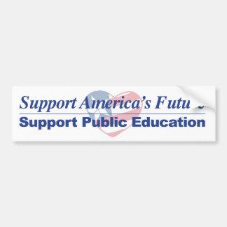 Support America's Public Schools Bumper Sticker 2