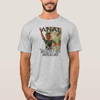 Support ANAL--Waving Worker Shirt
