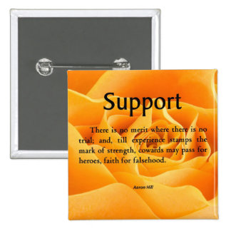 Support and Strength Button