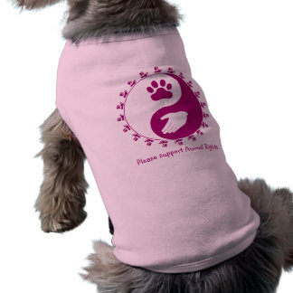 Support Animal Rights Pet Sweater T-Shirt