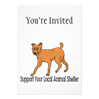 Support Animal Shelters Card