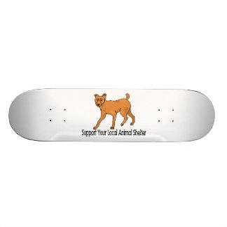 Support Animal Shelters Skateboard Deck