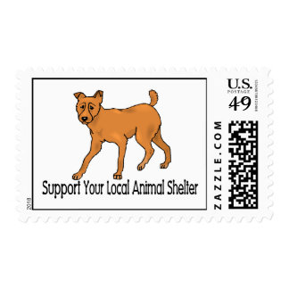 Support Animal Shelters Stamp