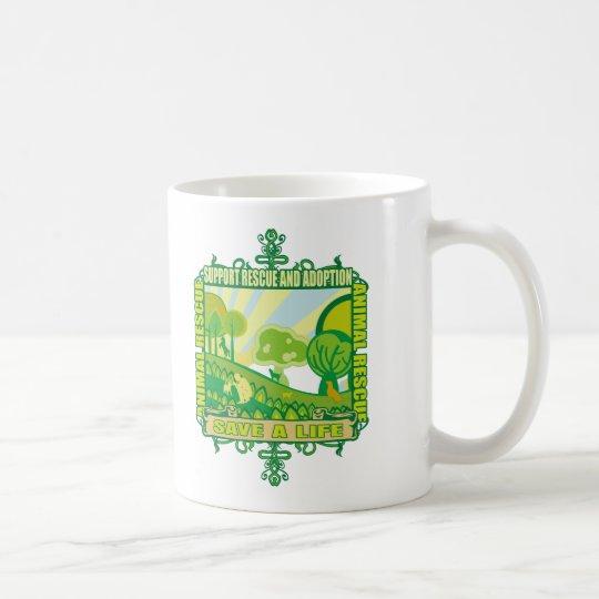 Support Animals Coffee Mug