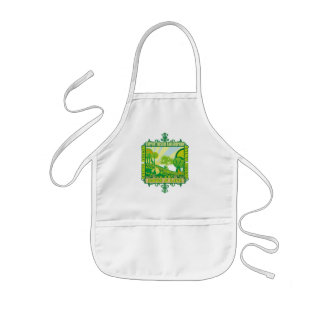 Support Animals Kids' Apron