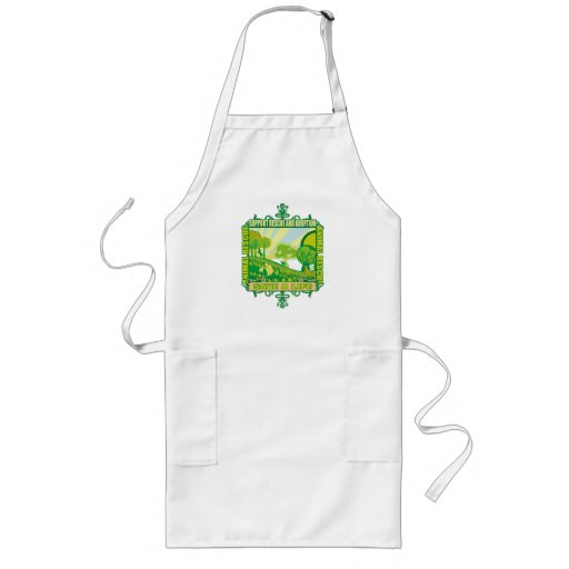 Support Animals Long Apron