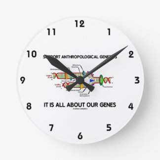 Support Anthropological Genetics About Our Genes Clock