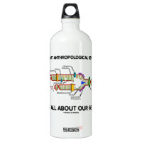 Support Anthropological Genetics About Our Genes SIGG Traveler 1.0L Water Bottle