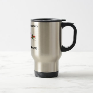 Support Anthropological Genetics About Our Genes Travel Mug