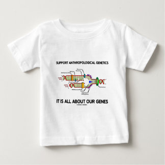 Support Anthropological Genetics About Our Genes T Shirts