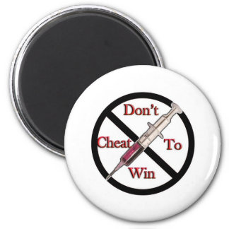 Support Anti-Doping 2 Inch Round Magnet