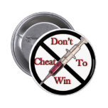 Support Anti-Doping Pinback Button