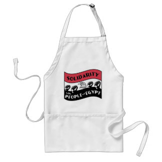 Support Arab people's Revolution Adult Apron
