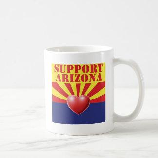 SUPPORT Arizona, AZ Classic White Coffee Mug