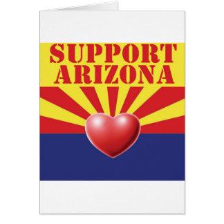 SUPPORT Arizona, AZ Greeting Card