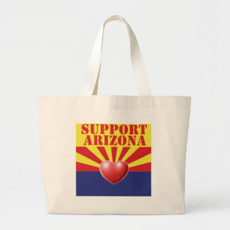 SUPPORT Arizona, AZ Jumbo Tote Bag