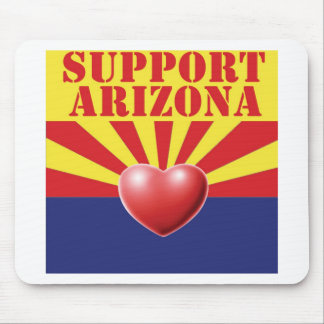 SUPPORT Arizona, AZ Mouse Pad