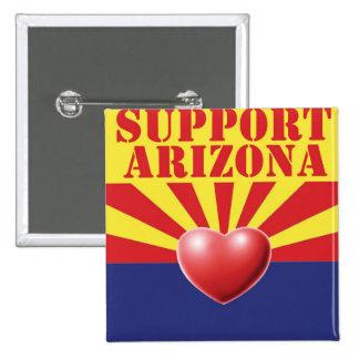 SUPPORT Arizona, AZ Pinback Button