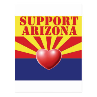 SUPPORT Arizona, AZ Postcard