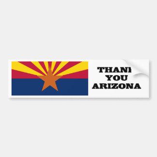 Support Arizona Car Bumper Sticker