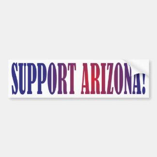 Support Arizona! Bumper Sticker