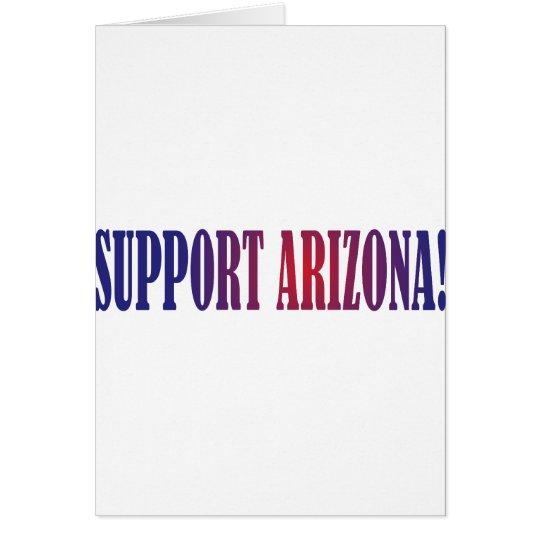 Support Arizona! Card