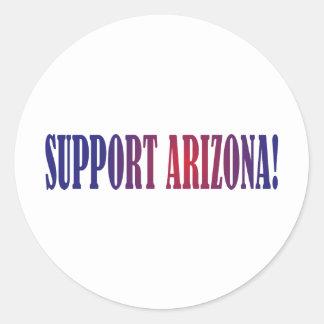 Support Arizona! Classic Round Sticker