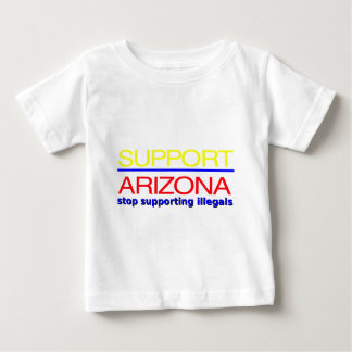 support arizona immigration law baby T-Shirt