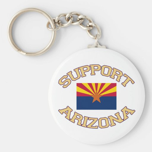 Support Arizona Key Chains