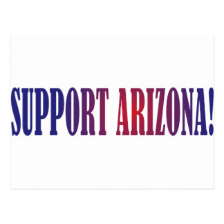 Support Arizona! Postcard