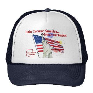 Support Arizona SB 1070 - Unite to Save America Trucker Hats
