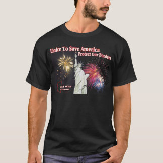 Support Arizona SB 1070 - Unite to Save America T-Shirt