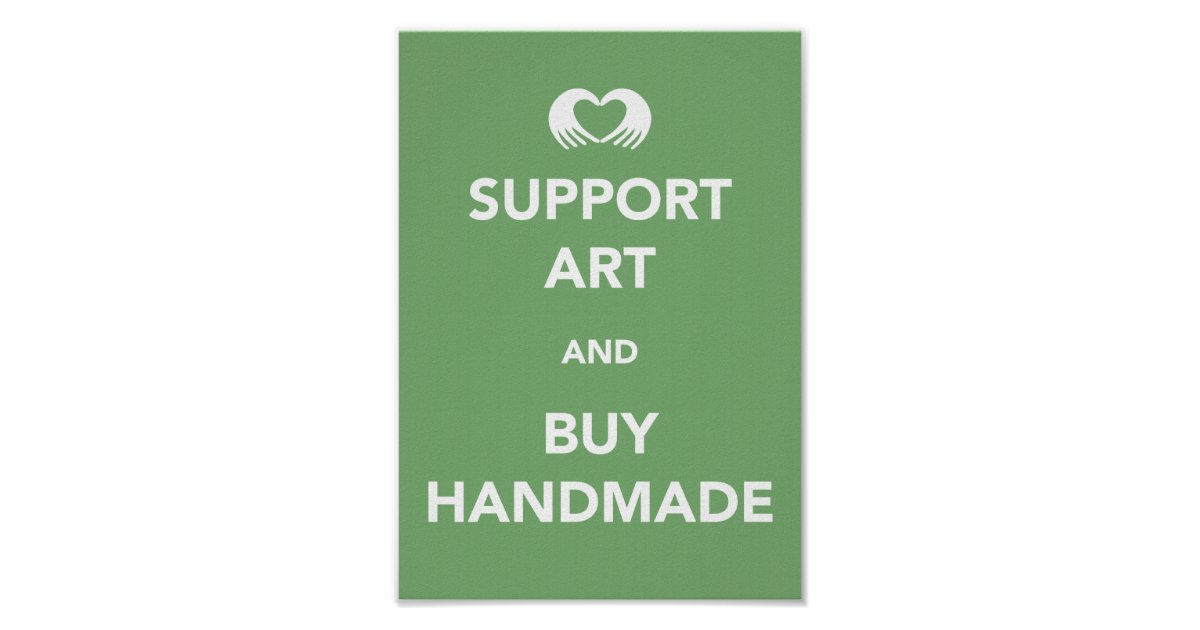 support art and buy handmade poster zazzle