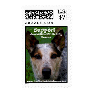 Support , Australian Cattle Dog Rescue Postage