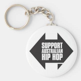 Support Australian Hip Hop Key Ring Key Chains