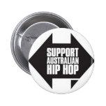 Support Australian Hip Hop Pins