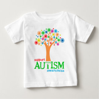 Support Autism Awareness Baby T-Shirt
