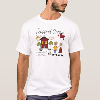 Support Autism Awareness Men's T-shirt