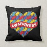 Support Autism Awareness Pillow