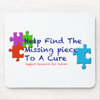 Support Autism Find a Cure Mouse Pad
