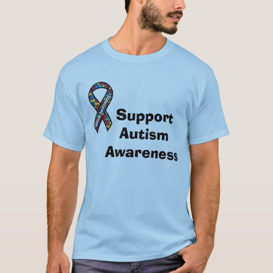 Support Autism Ribbon T-Shirt