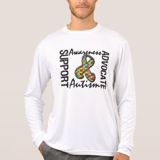 Support Awareness Advocate Autism Tshirt