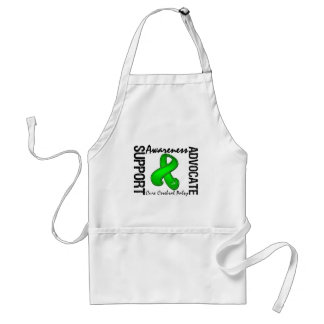 Support Awareness Advocate Cure Cerebral Palsy Adult Apron