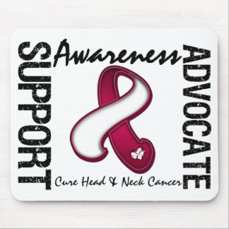 Support Awareness Advocate Cure Head & Neck Cancer Mouse Pad