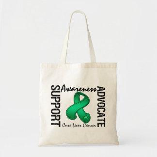 Support Awareness Advocate Cure Liver Cancer Bag
