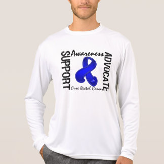 Support Awareness Advocate Cure Rectal Cancer Shirt