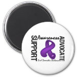 Support Awareness Advocate End Domestic Violence Refrigerator Magnets