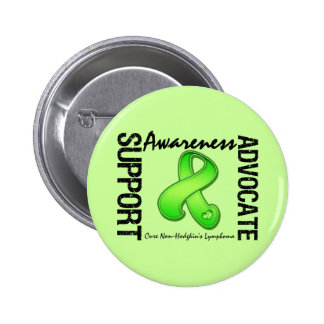 Support Awareness Advocate Non-Hodgkin's Lymphoma Buttons